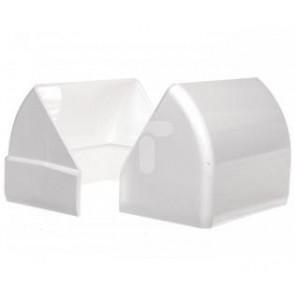 Angle extérieur variable 130x55 - Blanc neige