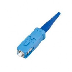 High Performance SC UNICAM SM SPC with ceramic ferrule. blue housing. 3mm and