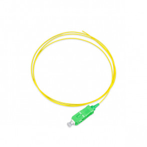 Pigtail LANmark-OF SC/APC Singlemode Tight Buffer LSZH 9/125 1m Yellow