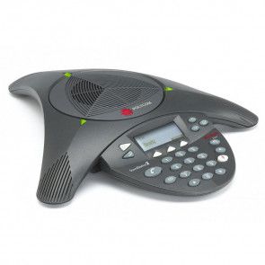 SoundStation2 (analog) conference phone with display. Expandable. Includes