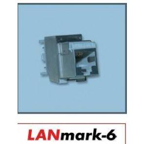 Connecteur Snap-in LANmark-6 EVO Catégorie 6 écranté avec reprise à 360
