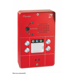 PORTIER SECURACCESS PMR IP CAM COMPACT 3BT ROUGE