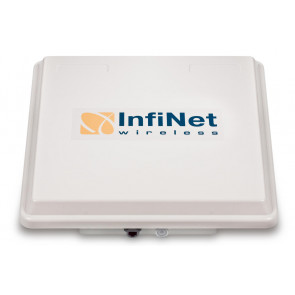 High-capacity 300 Mbps Base Station. Integrated 16 dBi 90 degrees dual-polarity
