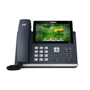 SIP-T48S Ecran Tactile 0-pixel color touch screen. Opus* codec support. USB 2.0