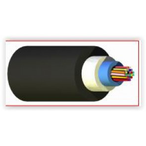 UG 6xMM50 OM3 LSZH Cable FO Int/Ext Unitube+renf. mèches verre (Spec. 767)