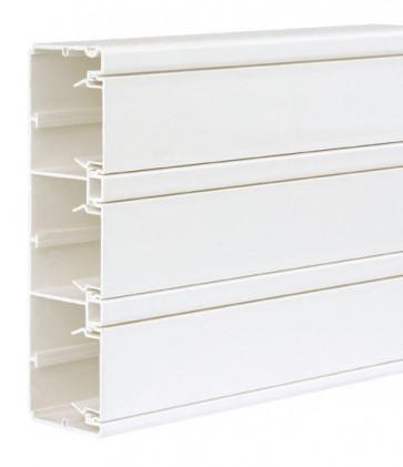 Goulotte 185x55 K45 PVC - Lg 2m - Blanc neige