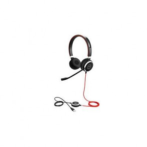 Jabra EVOLVE 40 MS Duo USB. Micro Antibruit. connexion USB. Connexion USB and