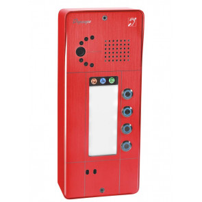 PORTIER SECURACCESS PMR IP CAM 4BT ROUGE