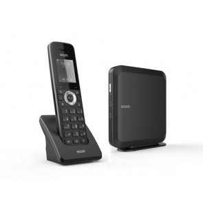 Snom M215 SC M200 base station + M15 handset package Up to 4 parallel calls  Up